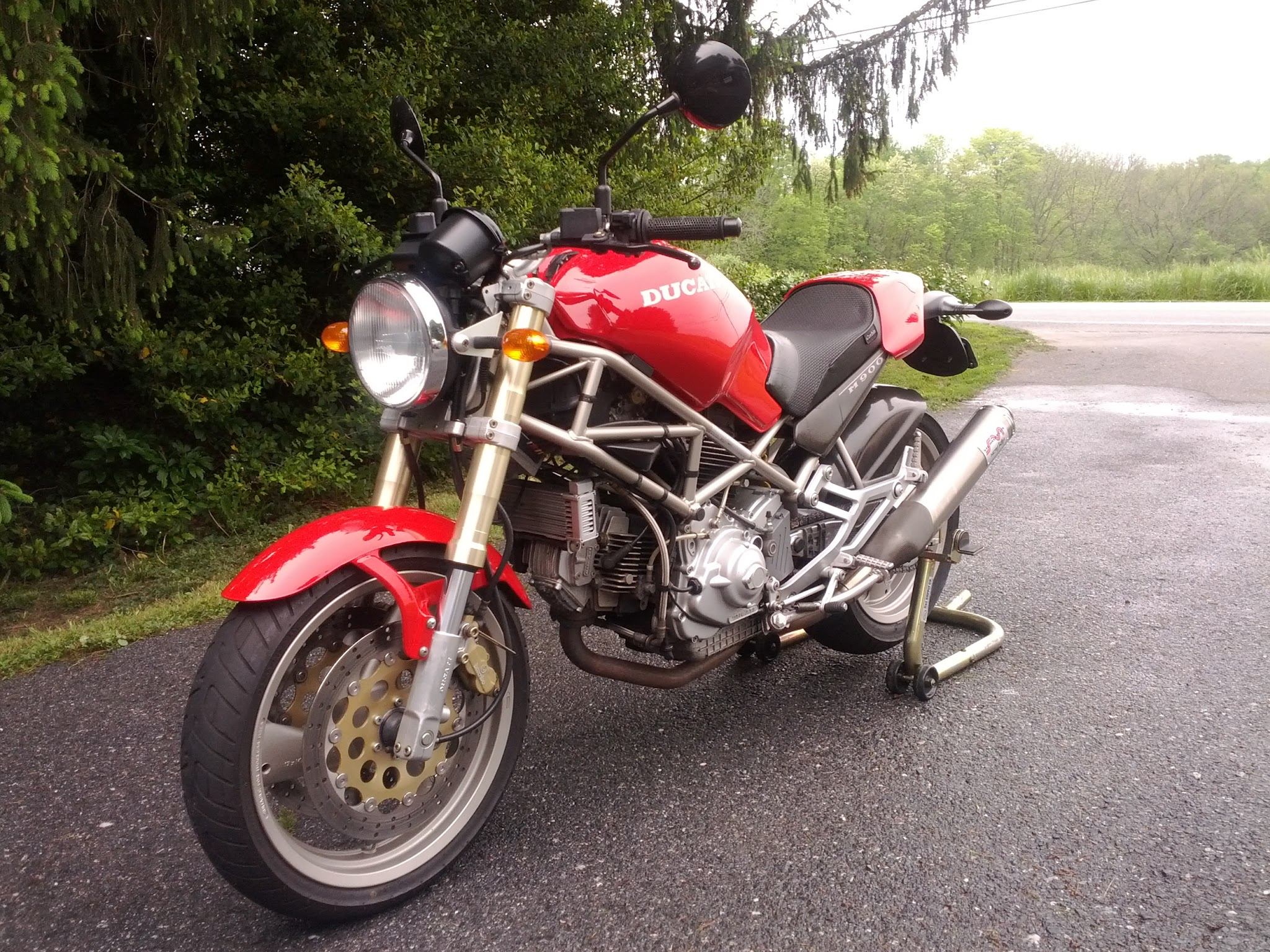 thinking of selling my 95 m900 - ducati monster forums: ducati