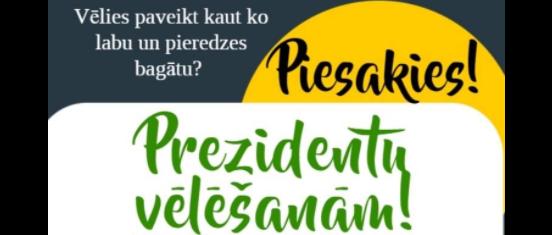 Pašpārvaldes prezidenta vēlēšanas 2021