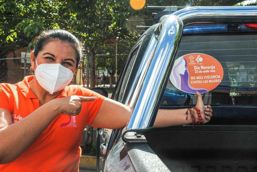 ✅En el Día Naranja, promueven acciones para ayudar a las mujeres a vivir una vida libre de violencias.