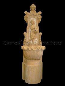 Exterior, Fountains, Gallery, Ideas, Interior, Natural Stone, Pedestal, Wall, wall fountain