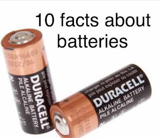 10 facts about batteries