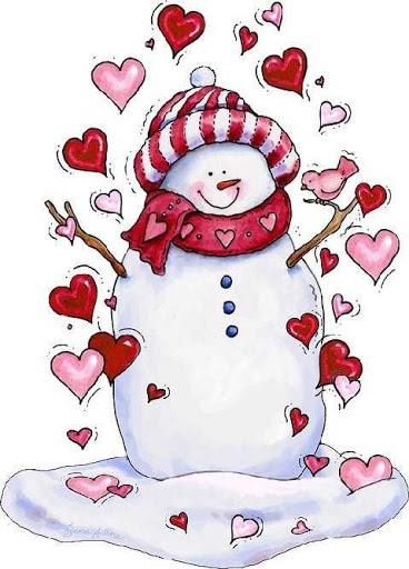 Desenho do boneco de neve