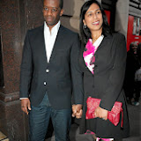 WWW.ENTSIMAGES.COM -  Adrian Lester and Lolita Chakrabarti   at   The Perfect American - press night at Coliseum, St Martin's Lane, London, June 1st 2013  Photo Mobis Photos/OIC 0203 174 1069
