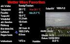 Während im Süden Österreichs derzeit heftige Gewitter unterwegs sind, ist die Lage in Wien ruhig bei sommerlichen 28 Grad, die 30 Grad Marke könnte noch knapp geknackt werden im Laufe des Nachmittags. Unangenehm der Westwind der in Böen mit 30 km/h weht. #Wetter  #Wien #Wetterwerte