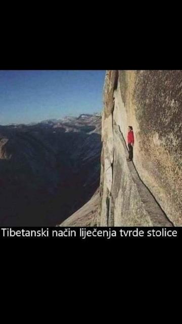pad sa stijene
