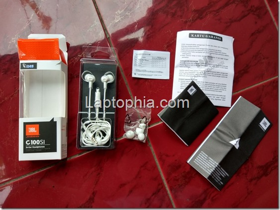 Perlengkapan JBL C100SI In-Ear Headphone