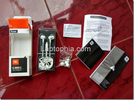 Perlengkapan JBL C100SI In-Ear Headphone