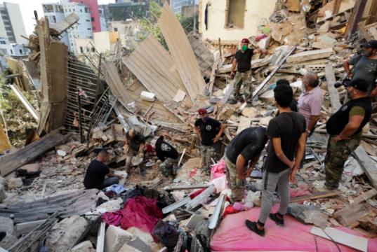 Beruit, Lebanon Explosion