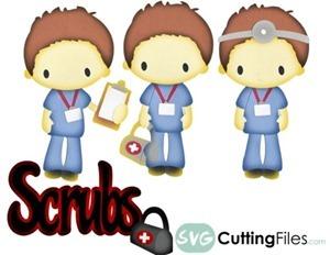 111 - diabujos enferemeras y enfermeros (18)