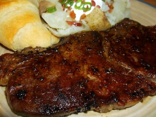 Cast Iron New York Strip Steaks Recipe