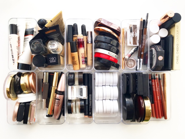 5 helpful tips to a more concise streamlined makeup collection