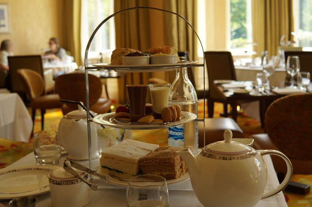 Afternoon tea in Norwich at Sprowston Manor hotel and country club