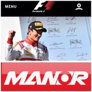 Kesamaan rio haryanto dengan manor racing team