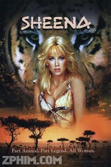 Nữ Chúa Rừng Xanh - Sheena (1984) Poster