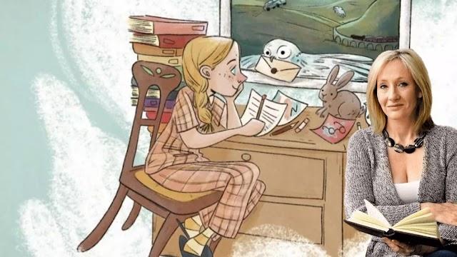 Marina Lenti dedica um livro a infância de JK Rowling criadora do Harry Potter