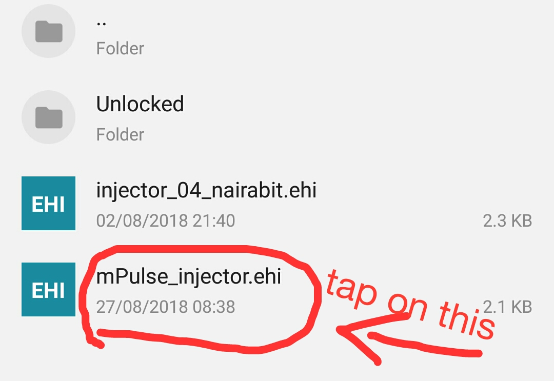 mpulse Free Browsing Cheat: New HTTP Injector Config File To Browse
