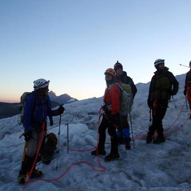 Alpinismo Alpes-Septiembre 2016