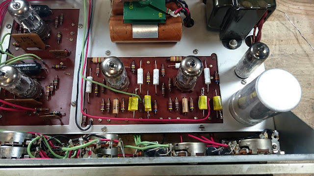 Dynaco Pas 3 Tube Stereo Pre Amplifier Rain City Audio