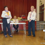 Award Presentations to Members of the Group -