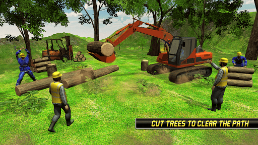 Heavy Excavator Simulator 2018 - Dump Truck Games screenshots 4
