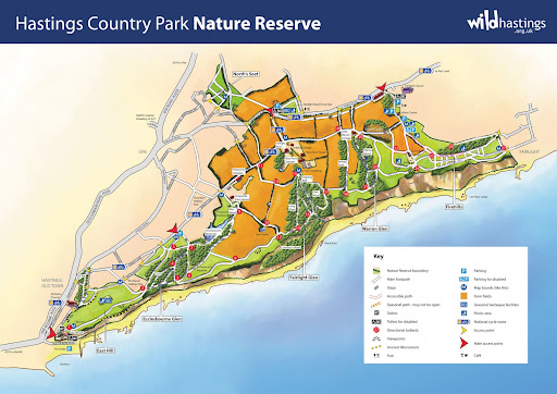 hastings county park map