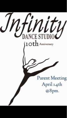 Infinity Dance Studio: Parent Meeting