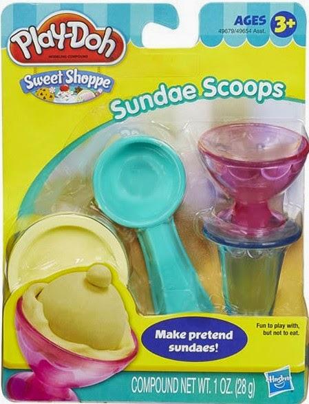 Đồ chơi làm Kem ly mini bằng bột nặn Play-Doh