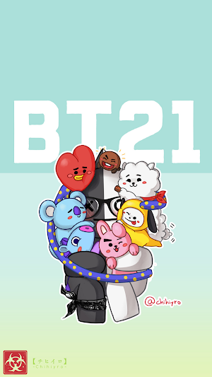 BT21 Characters Wallpaper HD