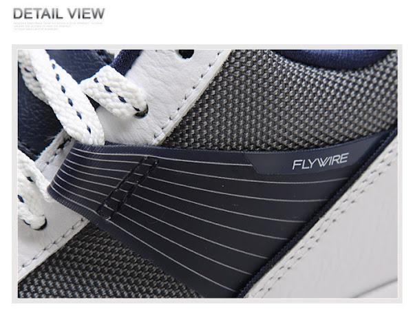 New Nike Zoom LBJ Ambassador III with Flywire 8211 WhiteNavy