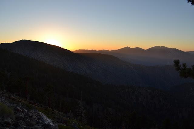 dawn light turning into morning