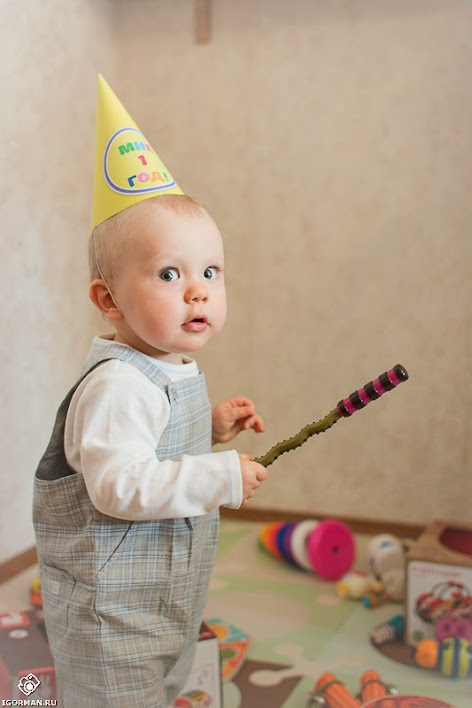 Профессиональная Фотосессия на День Рождения