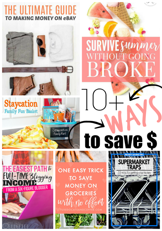10 Ways to Save Money at GingerSnapCrafts.com #money #budget #tips