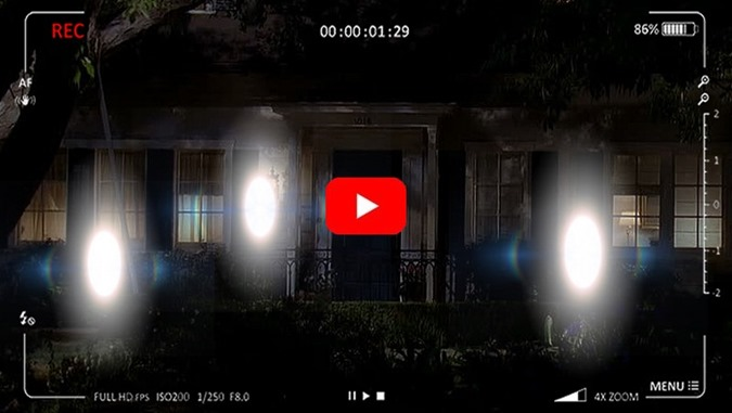 Cenas incríveis de Seres de Luz capturadas por câmera