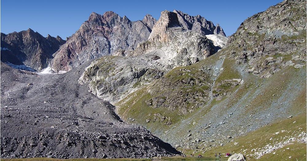 Testclod aiguille de chambeyron lac et glacier rocheux de marinet alpes de hte provence - Au bout de l aiguille ...