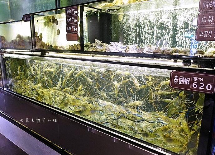 23 蒸龍宴 活體水產 蒸食 台北美食 新竹美食 台中美食