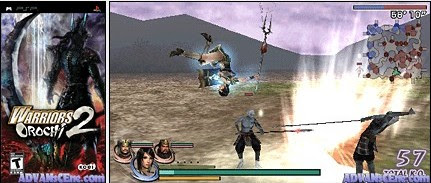 Warriors Orochi 2 - USA PSP download