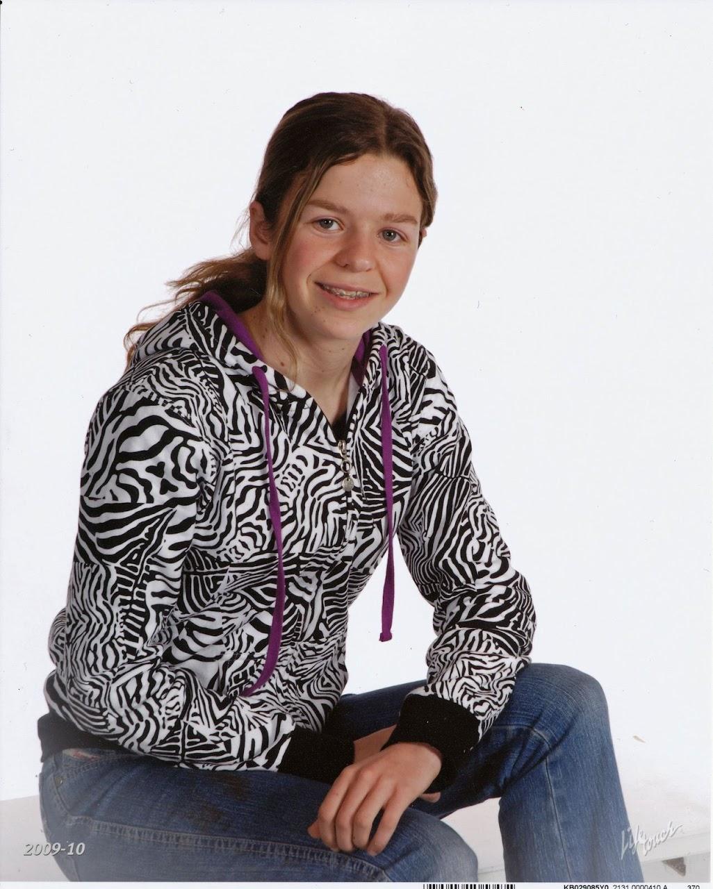 Courtney 8th grade 2010