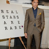 WWW.ENTSIMAGES.COM -    Nat Weller  arriving at    Real Stars Are Rare - launch party at Somerset House, Strand, London October 8th 2014Paul Weller launch  his 2014 menswear collection at 101 London, a space within Somerset House.                                                     Photo Mobis Photos/OIC 0203 174 1069