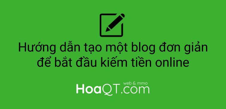 Hinh anh: Hoc cach tao blogwebsite don gian voi WordPress
