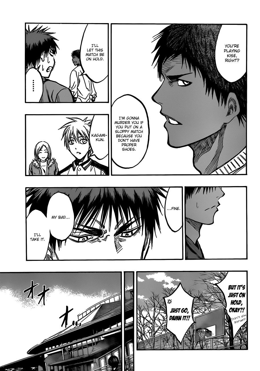 Kuroko no Basket Manga Chapter 174 - Image 15