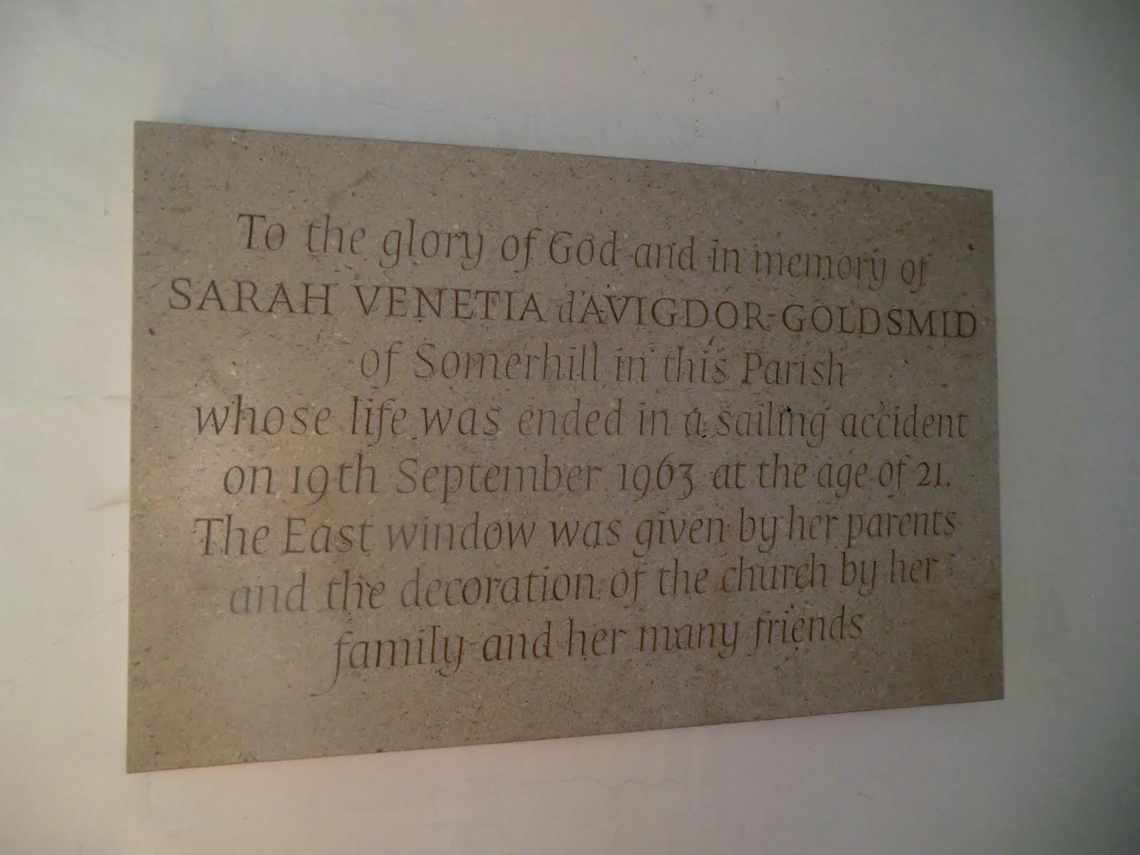 CIMG1567 Memorial, All Saints church