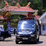 Nghi thức hỏa táng Cha Nicôla Đinh Quang Điện