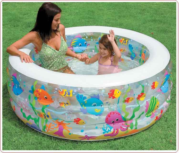 Bể bơi trẻ em intex 58480 (152cm - cao 56cm).