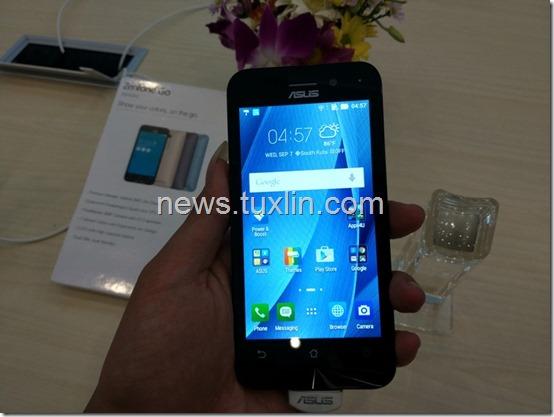 Hands On Asus Zenfone Go ZB450KL: Ponsel 4G LTE Terjangkau