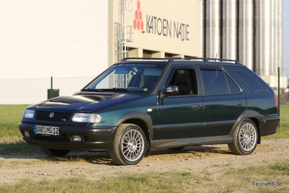 Mein erstes Auto 2004-2010: Škoda Felicia Combi 1,3l mit Gasanlage und 68PS Ein tolles Großes Auto