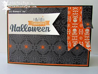 stampin up, halloween street, hexenwerk, witches brew, banner