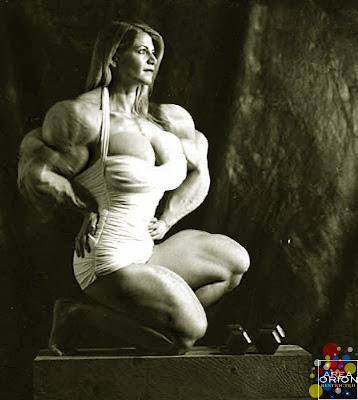 Lori Braun muscle morph