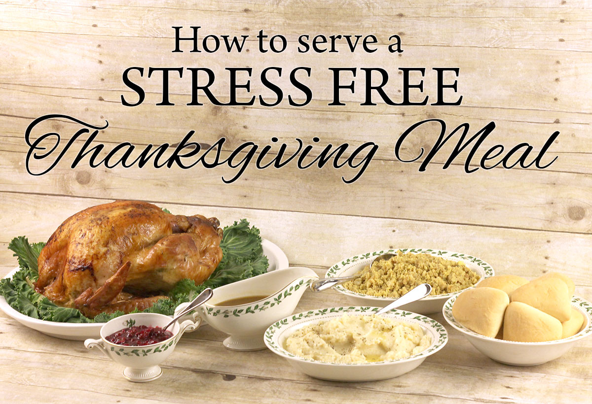 how to have a stress free thanksgiving day kim six foodie fix