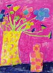 Chalk Pastel Still Life by Sophia C
