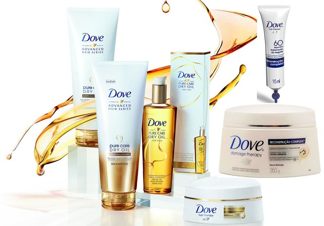 Elseve, Pantene ou Dove